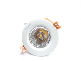 Faretto LED incasso 7W Cob faro led controsoffitto con Driver Led